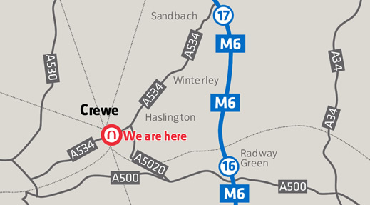 Nexpack-Crewe-Map