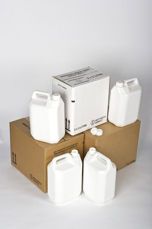 Two New UN Approved 5 Litre Combination Packs